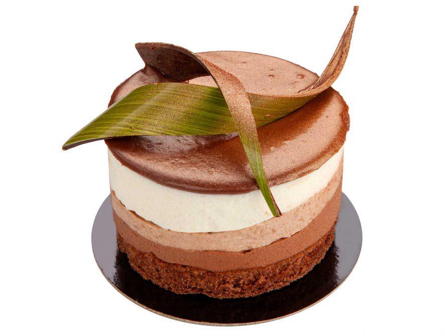Mousse de Cuatro Chocolates
