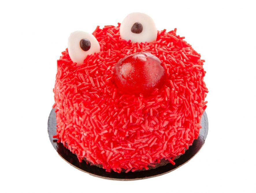 Mousse Infantil monstruo rojo
